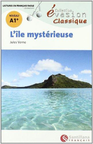 L île mystérieuse, niveau A1 (Paperback): Jules Verne
