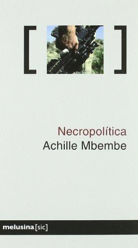 9788496614192: Necropolitica