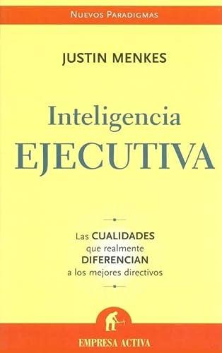 9788496627024: Inteligencia ejecutiva (Nuevos paradigmas)