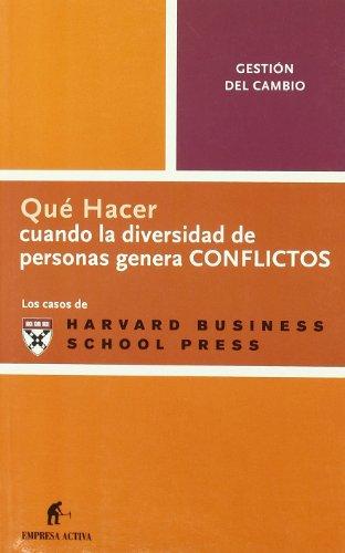 9788496627062: Qhc La Diversidad De Personas Provoca Conflic