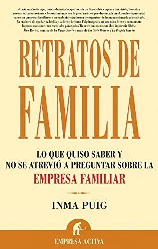 9788496627161: Retratos de familia (Narrativa empresarial)
