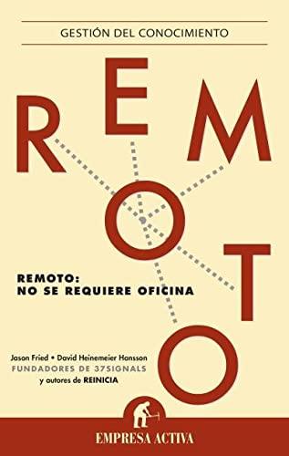 Remoto (Spanish Edition): Fried, Jason