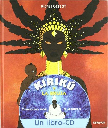 Kirikú y la bruja con CD - Ocelot, Michel