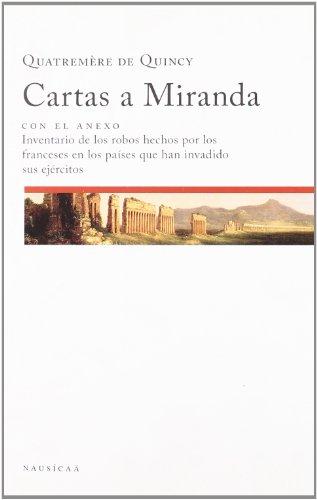 9788496633360: Cartas A Miranda
