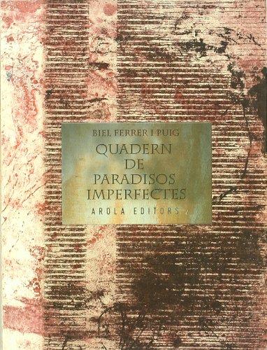 9788496639638: Quadern De Paradisos Imperfectes (D?ctil)
