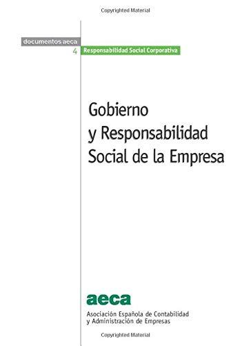 9788496648074: Gobierno y Responsabilidad Social de la Empresa (Spanish Edition)