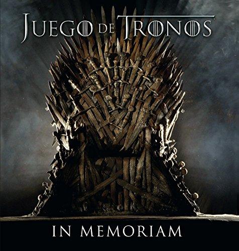 9788496650084: Juego de tronos/ Game Of Thrones: In memoriam/ In Memoriam