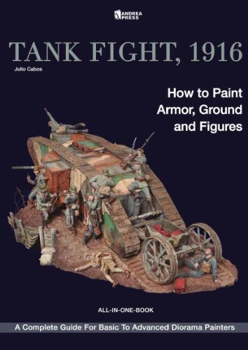 9788496658486: Tank Fight, 1916: How to Paint Armor, Ground and Figures
