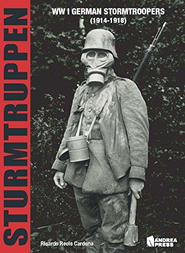 9788496658516: Sturmtruppen: Wwi German Stormtroopers (1914-1918)