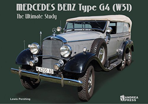 9788496658585: MERCEDES BENZ TYPE G4(W31): THE ULTIMATE STUDY