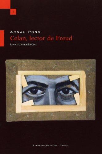 9788496664142: Celan,Lector De Freud