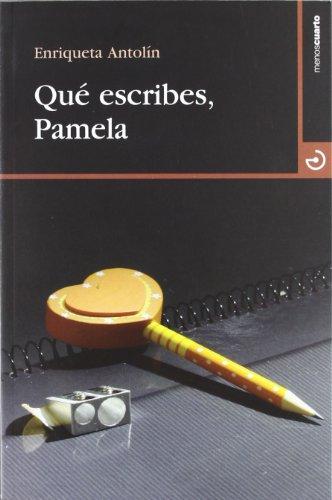 9788496675858: Qué Escribes, Pamela (Cuadrante 9)