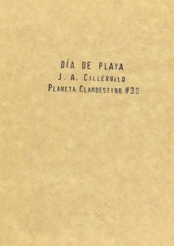 9788496686106: Dia de playa (Planeta Clandestino)