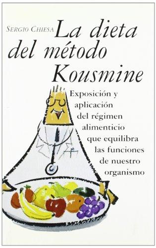 9788496707122: La Dieta Del Metodo Kousmine