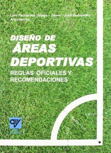 9788496709065: Diseño de Áreas Deportivas (Spanish Edition)