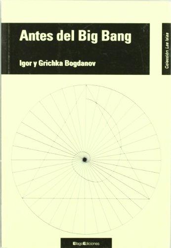 9788496720435: Antes del Big Bang