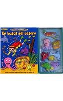 9788496734975: En busca del tesoro/ In Search Of the Treasure (Historias magneticas 3d/ Magnetic Stories) (Spanish Edition)