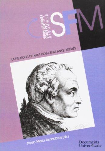 La filosofia de Kant dos-cents anys després: Félix Duque
