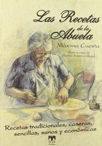 9788496745810 Las Recetas De La Abuela Abebooks Maxima Cuesta