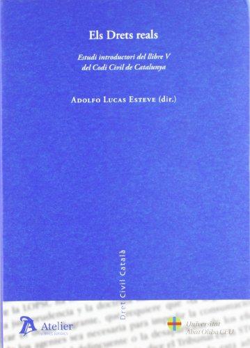 9788496758568: Drets reals. Estudi introductori del llibre v del codi civil de catalunya.