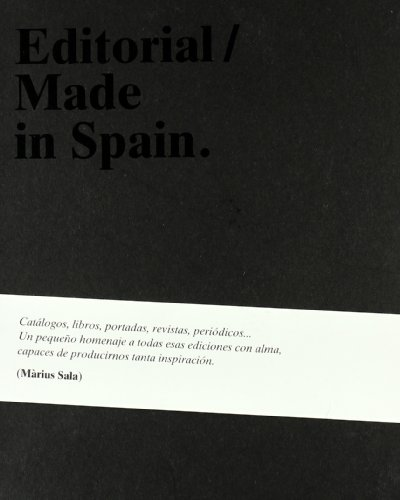 Editorial made in Spain - Sala, Pietschek Màrius