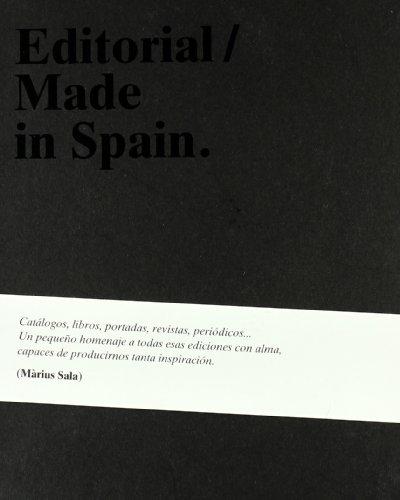MADE IN SPAIN EDITORIAL (CASTELLANO) - MARIUS SALA