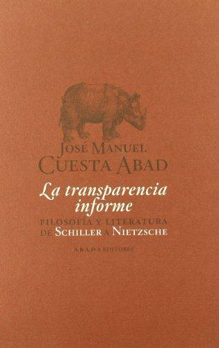 9788496775572: Transparencia Informe,La (LECTURAS DE TEORÍA LITERARIA)