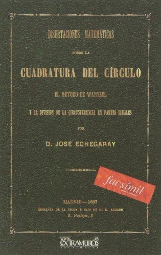 9788496784833: Facsímil: Disertaciones matemáticas sobre la cuadratura del círculo.