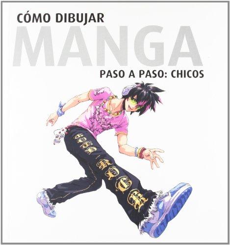 9788496805477: Como Dibujar Manga Paso A Paso - Chicos
