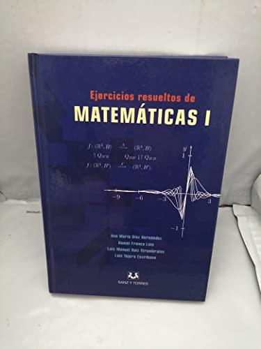 9788496808089: Ejercicios resueltos de matematicas I