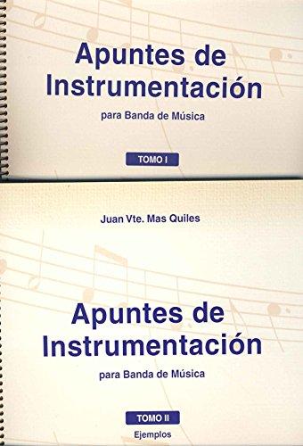9788496814219: MAS QUILES J.V. - Apuntes de Instrumentacion para Banda en 2 Volumenes