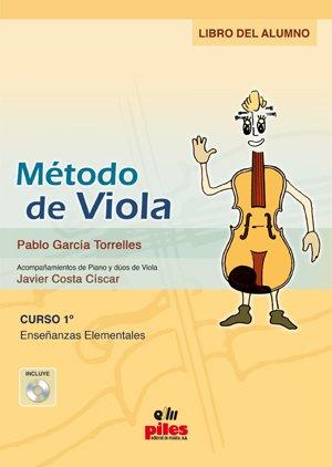 9788496814745: GARCIA TORRELLES y COSTA - Metodo de Viola Vol.1 para Viola (Inc.CD) Alumno