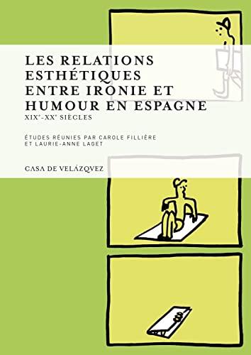 9788496820586: relations esthetiques entre ironie et humour en espagne