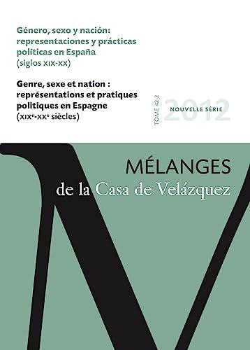 Género, sexo y nación: representaciones y prácticas políticas en Espa&...