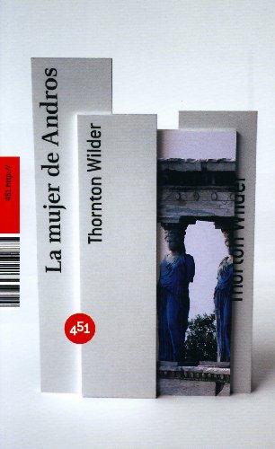 9788496822085: La mujer de Andros (Spanish Edition)