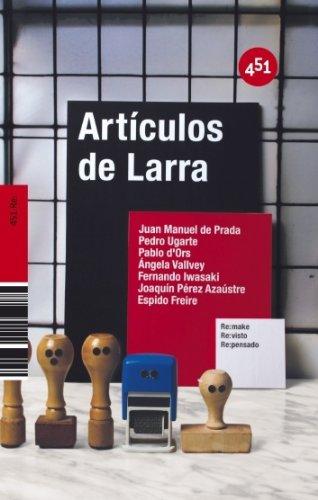 Artículos de Larra: Ángela Vallvey
