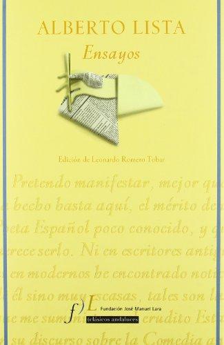 Ensayos (Spanish Edition): Fundacià n Josà Manuel Lara