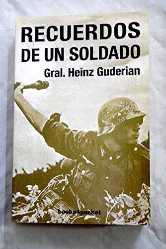 9788496829558: Recuerdos de un soldado (Ensayo y divulgación)