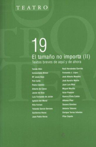 EL TAMAÑO NO IMPORTA (II): Textos breves: Tomás Afán, Inmaculada