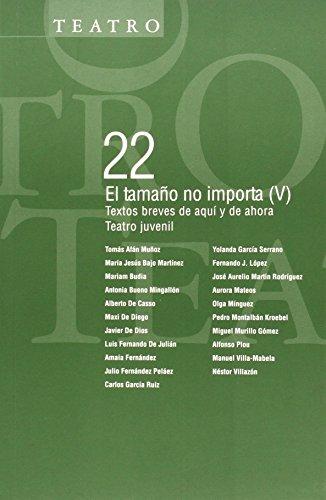 EL TAMAÑO NO IMPORTA (V): Textos breves: Tomás Afán Muñoz,