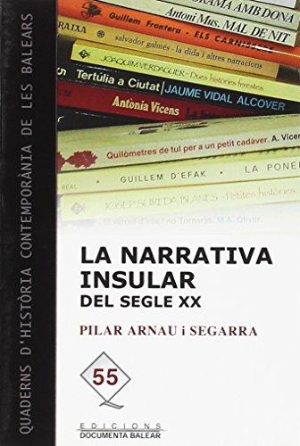 9788496841222: La narrativa insular del segle XX