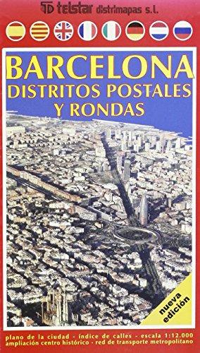 9788496850965: Barcelona: distritos postales y rondas