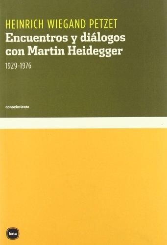 9788496859029: Encuentros Y Dialogos Con Martin (conocimiento)