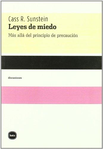 9788496859616: Leyes Del Miedo (discusiones)
