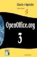 9788496897632: Openoffice 3.org