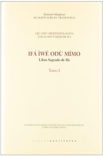 9788496910393: Libro sagrado de ifa, tomo I