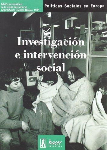 Investigacion e intervencion social - Vvaa