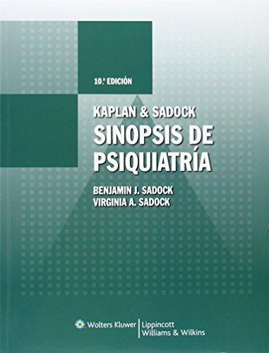 9788496921184: Kaplan & Sadock. Sinopsis de psiquiatría (Spanish Edition)