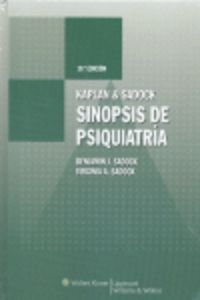 9788496921382: Kaplan & Sadock. Sinopsis de psiquiatría (Synopsis of Psychiatry)