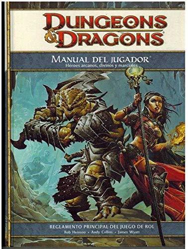 9788496934238: DUNGEONS&DRAGONS MANUAL DEL JUGADOR